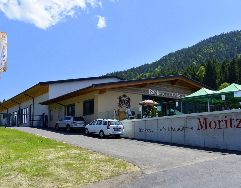 Bäckerei Moritz - Hausansicht von Außen.